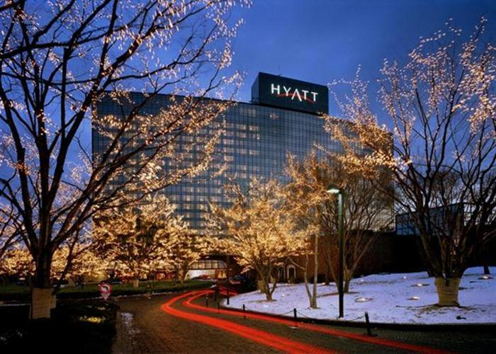 The 601 rooms and suites at the Grand Hyatt Seoul have sweeping views of Mount  Namsan and the Han River.
