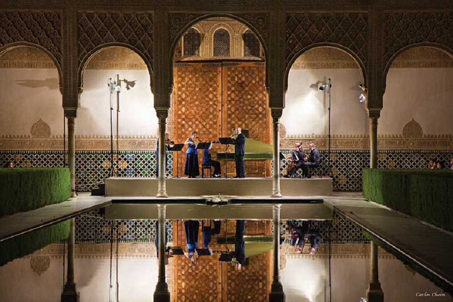 In Granada, performances are staged in settings such as the city's historic Alhambra gardens.
