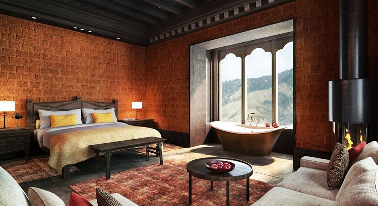 The lodge comprises an intimate number of just 12 rooms.