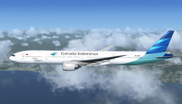 Garuda Indonesia announced it will not start flying to London until May 2014.