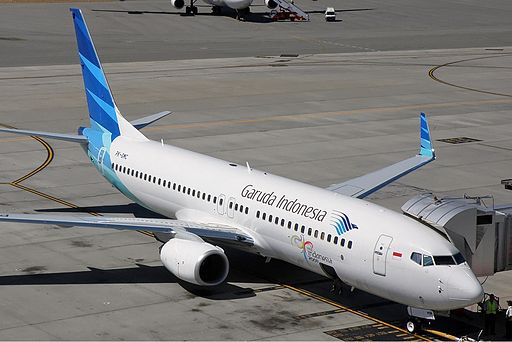 Garuda Indonesia has designated its Boeing 737-800 to service the new route.