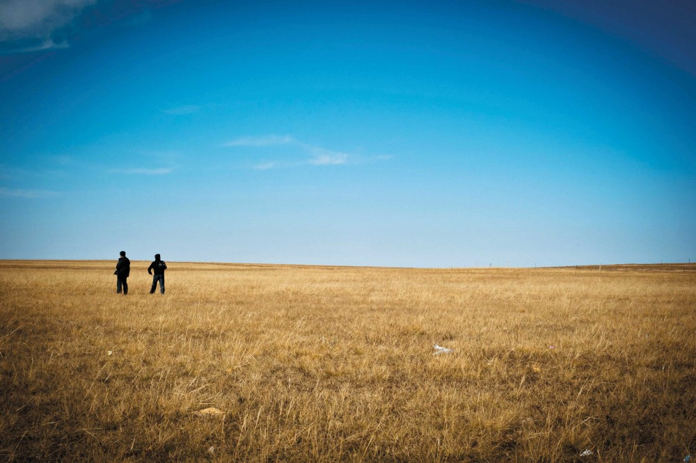 Empty vistas dominate a stretch of prairie in the Xilamuren Grassland (Getty Images).