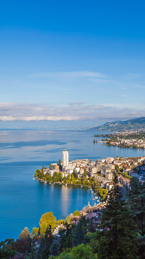 Montreux's serene beauty.