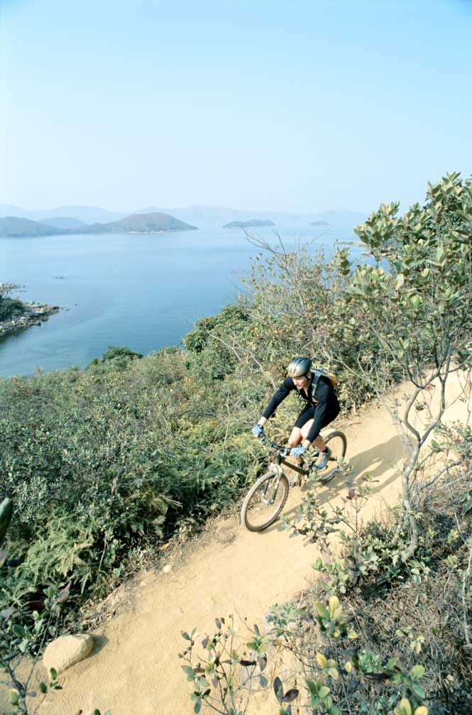 The Sai Kung Peninsula offers plenty of opportunites for biking.