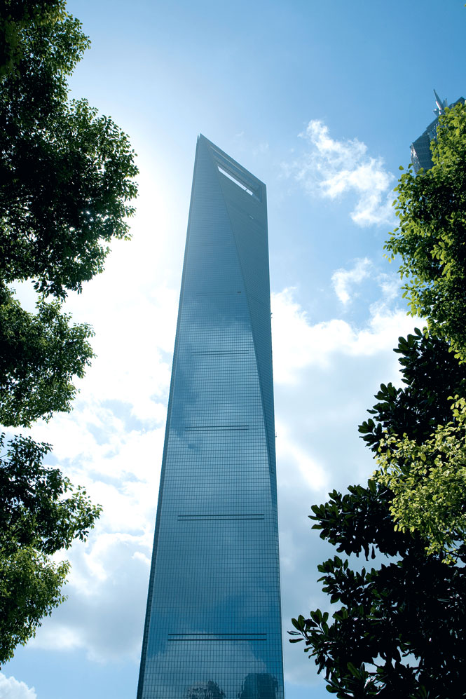The Shanghai World Financial Centre, Home to The Park Hyatt.
