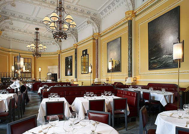 The interior of the newly refurbished Gilbert Scott.