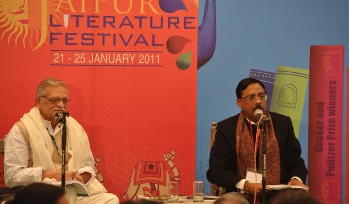 Gulzar and Pavan Valmar