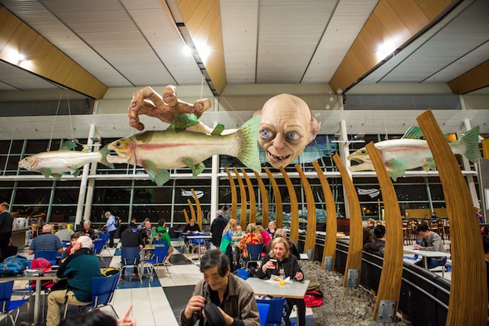 The airport's existing Gollum installation.