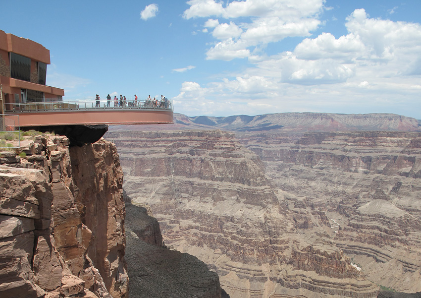 Grand Canyon Skywalk in Arizona.
