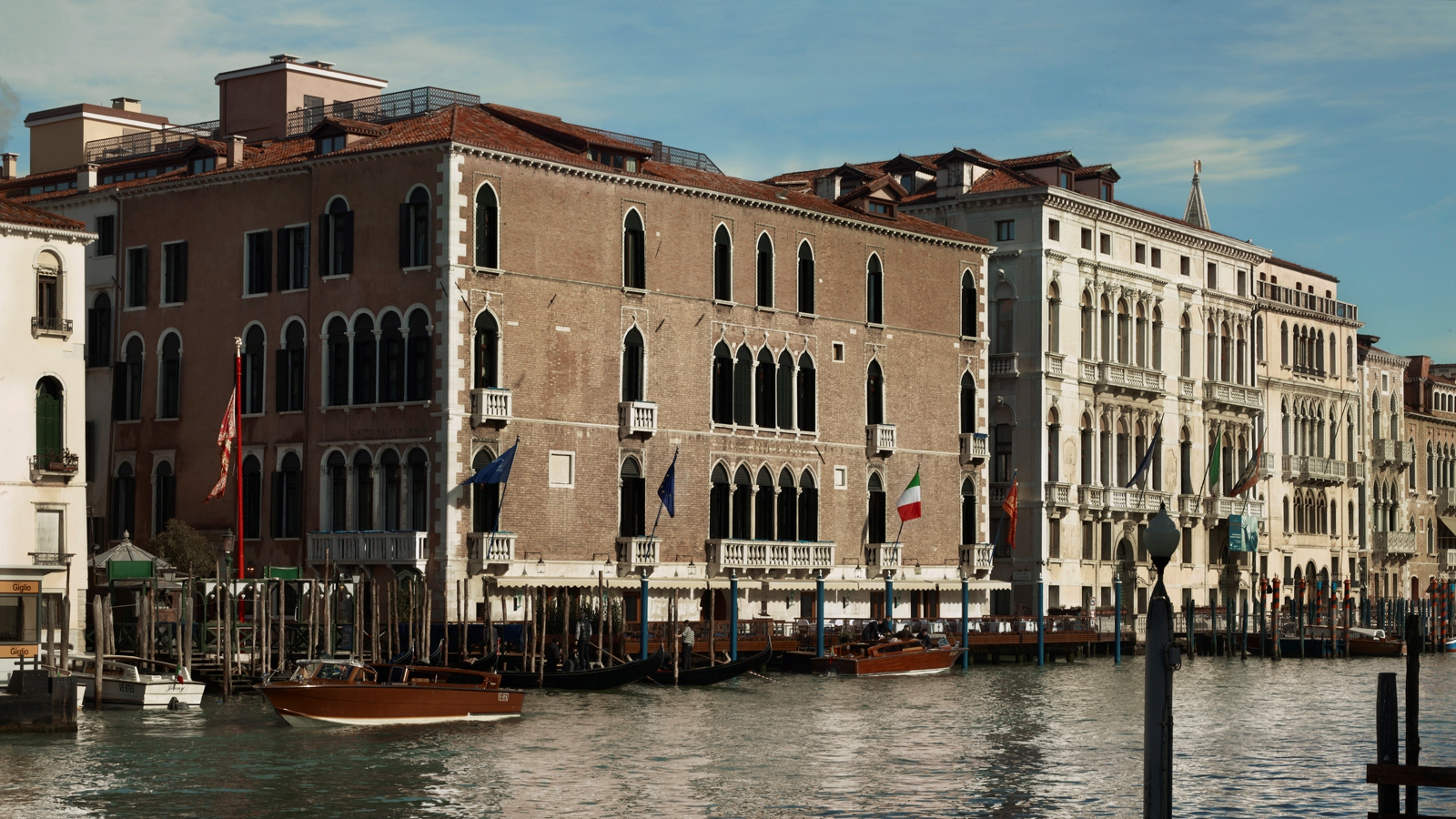 The exterior of the revamped Gritti Palace.