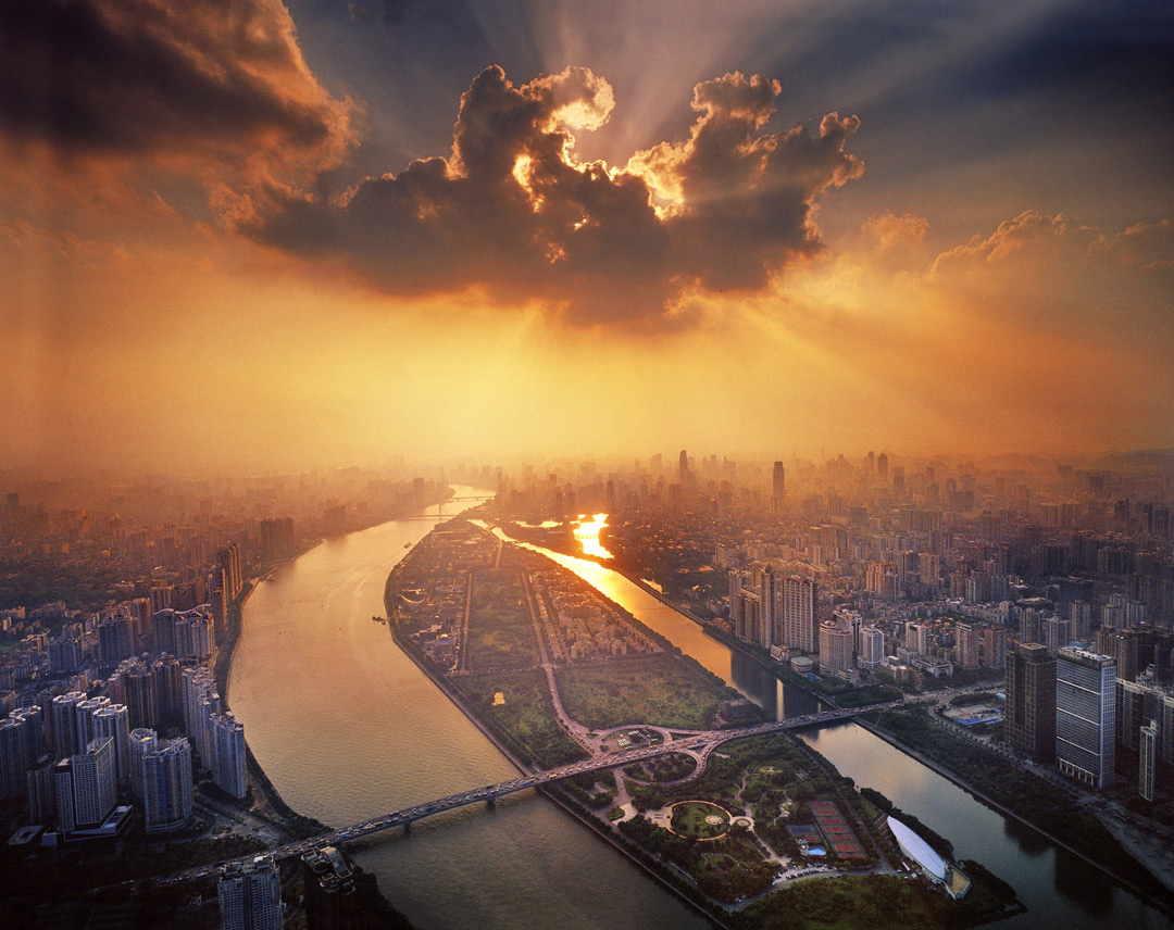 Guangzhou from above.