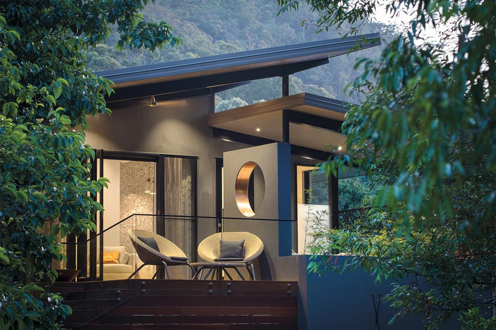 One of the new Meditation Suites at Australia's Gwinganna Lifestyle Retreat.