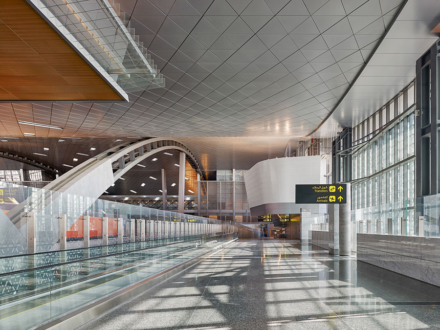 As many as 8,700 passengers can pass through the Passenger Terminal Complex  in an hour.