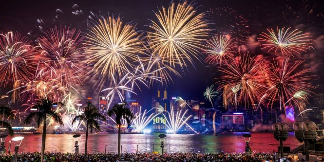 Hong Kong New Year Countdown Celebrations 2018