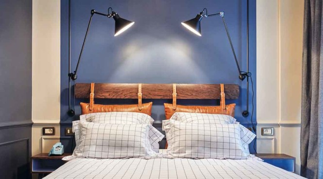 A guest room at The Hoxton, Paris.