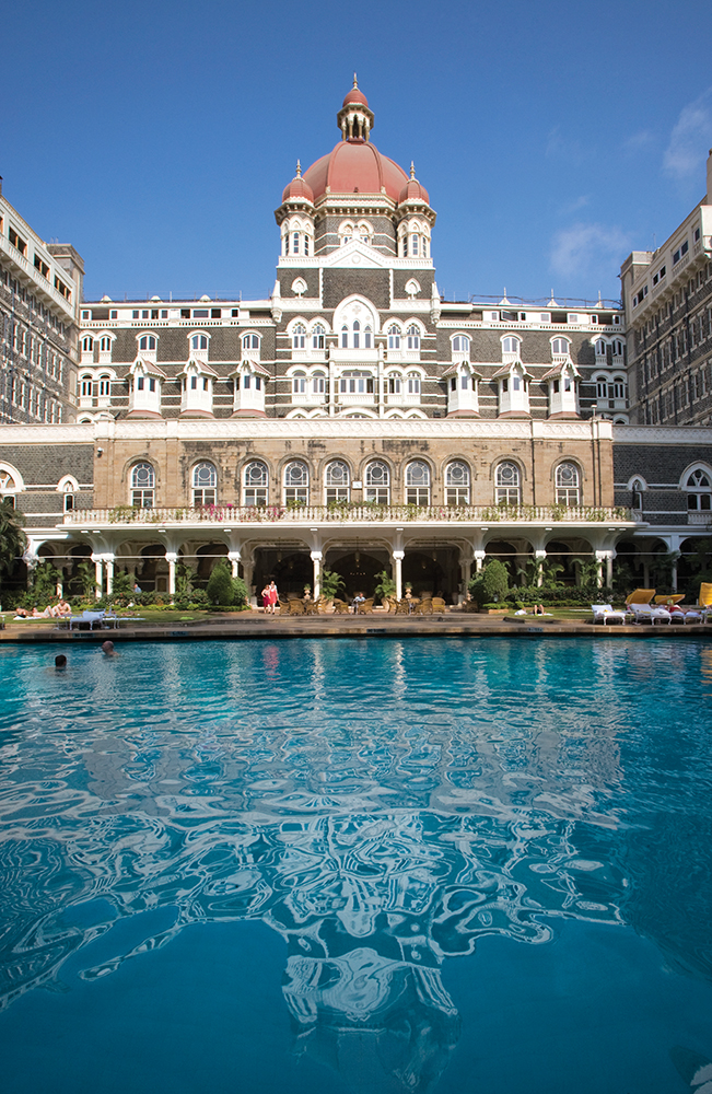 The Taj Mahal Palace hotel is home to the city's finest spa, Jiva.