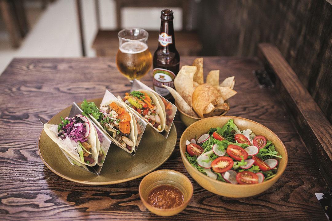 Hanoi Taco Bar gives Mexican cuisine a Vietnamese twist.