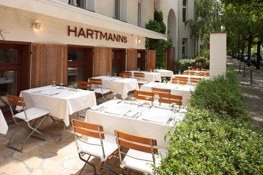 Stephen Hartmann's namesake restaurant was recently awarded a Michelin star.