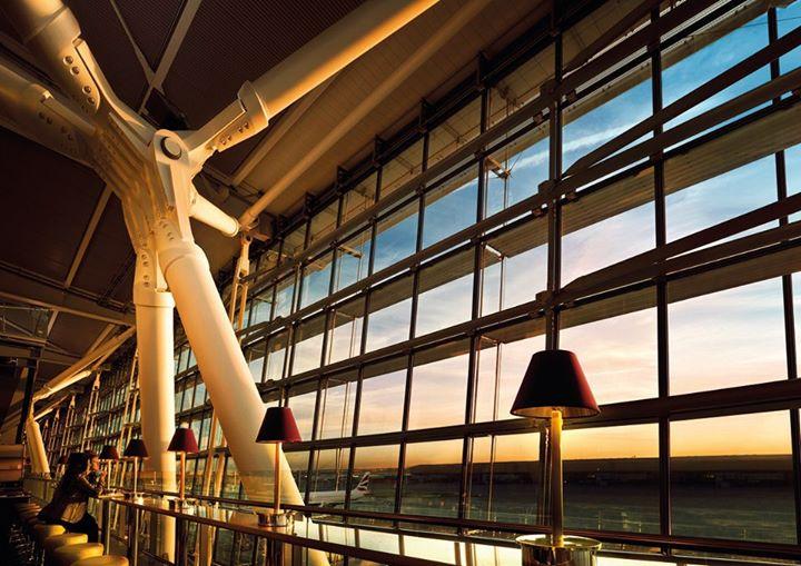London Heathrow Airport ranks as the third busiest airport.