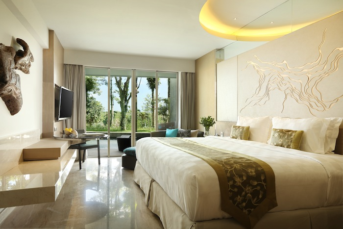 The Jimbaran Bay Hill Side Room starts from 38 square meters.
