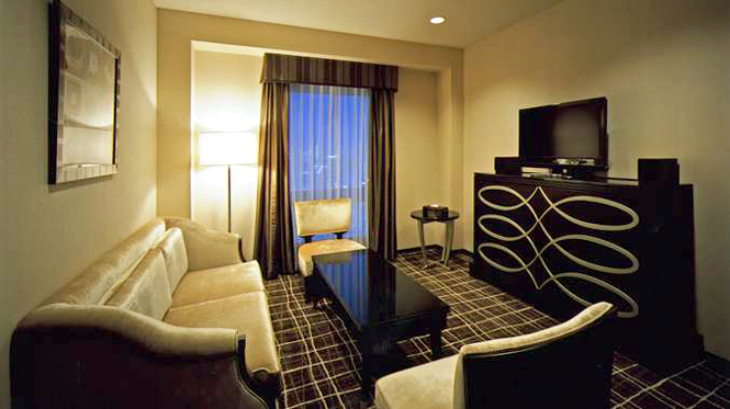 One of the suites