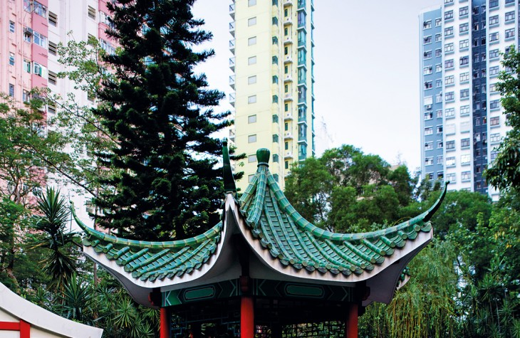 Lotus Pavilion at Hollywood Road Park