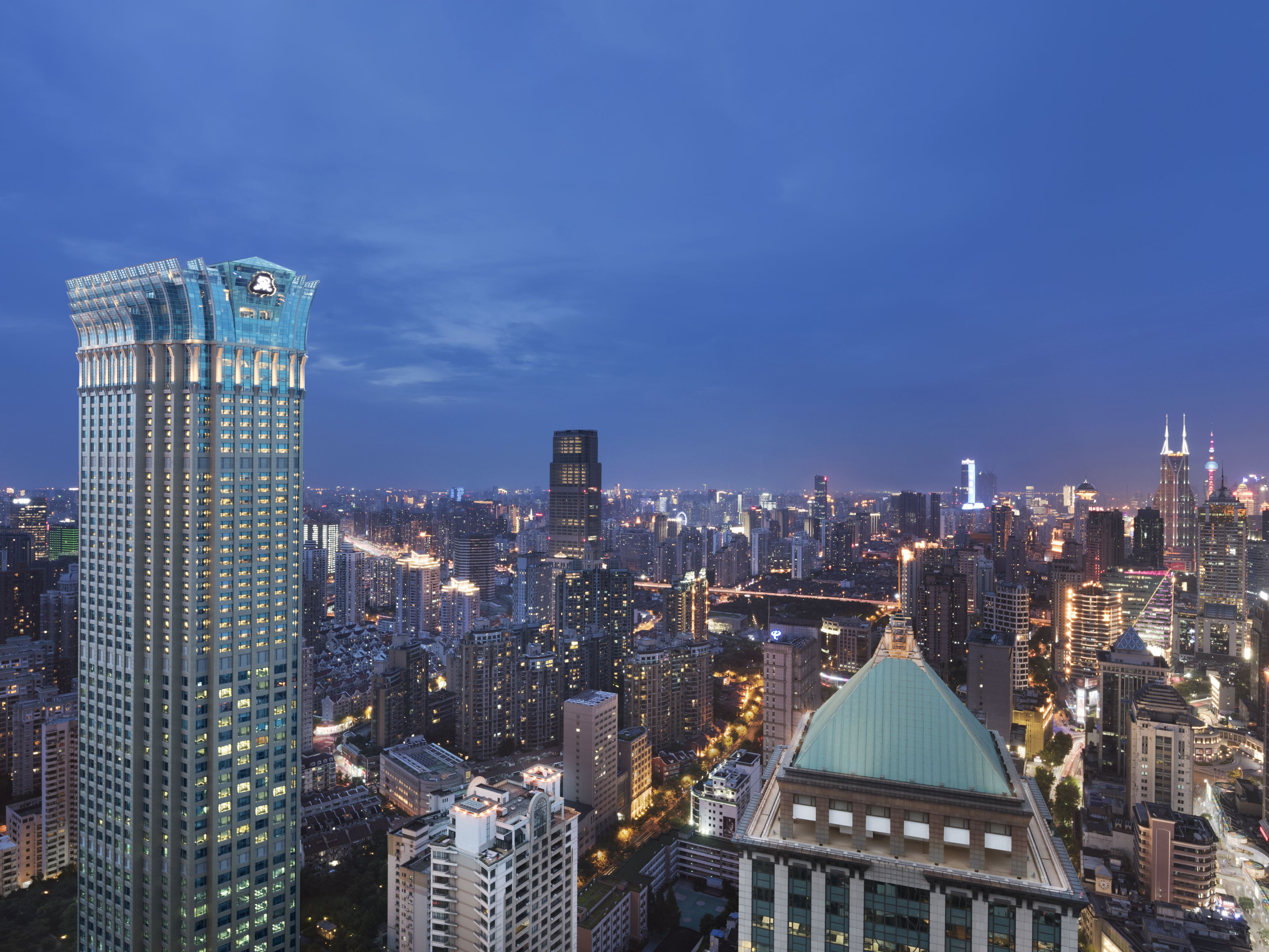 Outside look of the St. Regis Shanghai Jingan.