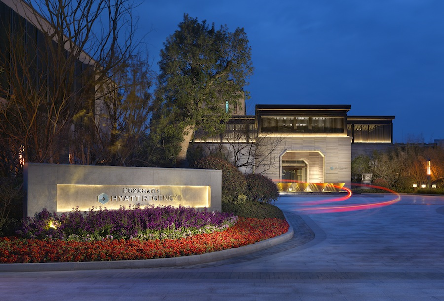Hyatt Regency Chongming is the first international five-star hotel on the island.