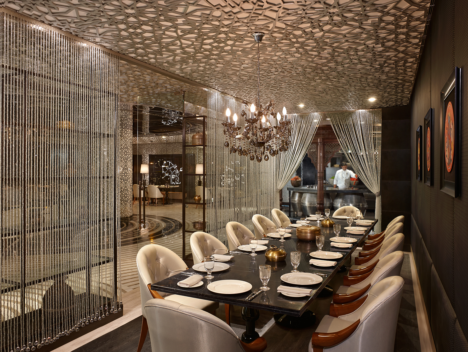Lavana, the fine dining restaurant at the Hyatt Regency Gurgaon.