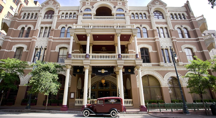 The Driskill in Texas is one of the first hotels to be included under Hyatt's new brand. It was completed in 1886.