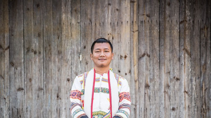 Jinuo man in Bapo Village