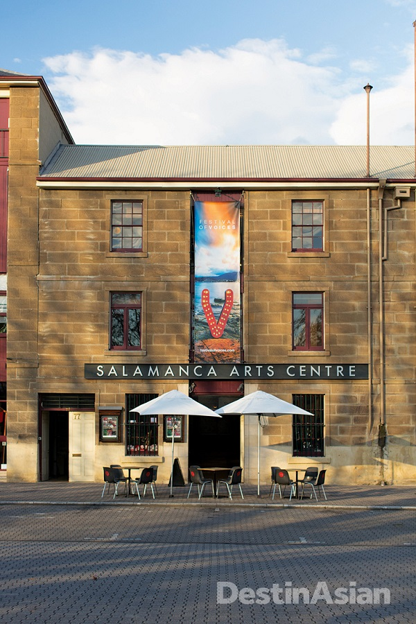 The Salamanca Arts Centre at Salamanca Place.