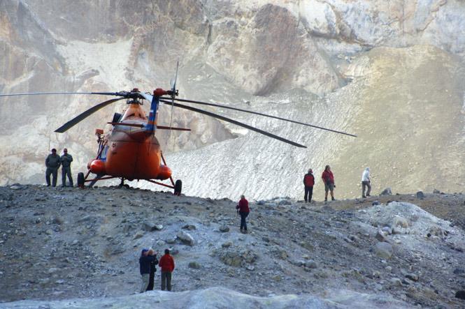 MI-8 tour helicopter.
