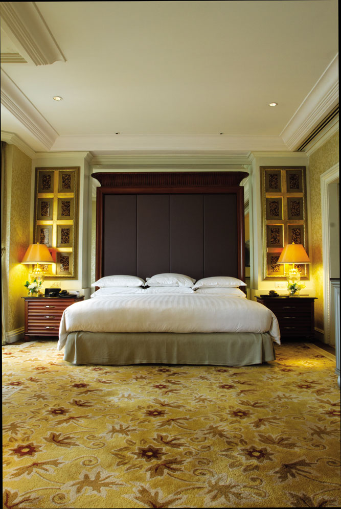 A suite at the Grand Hyatt Jakarta