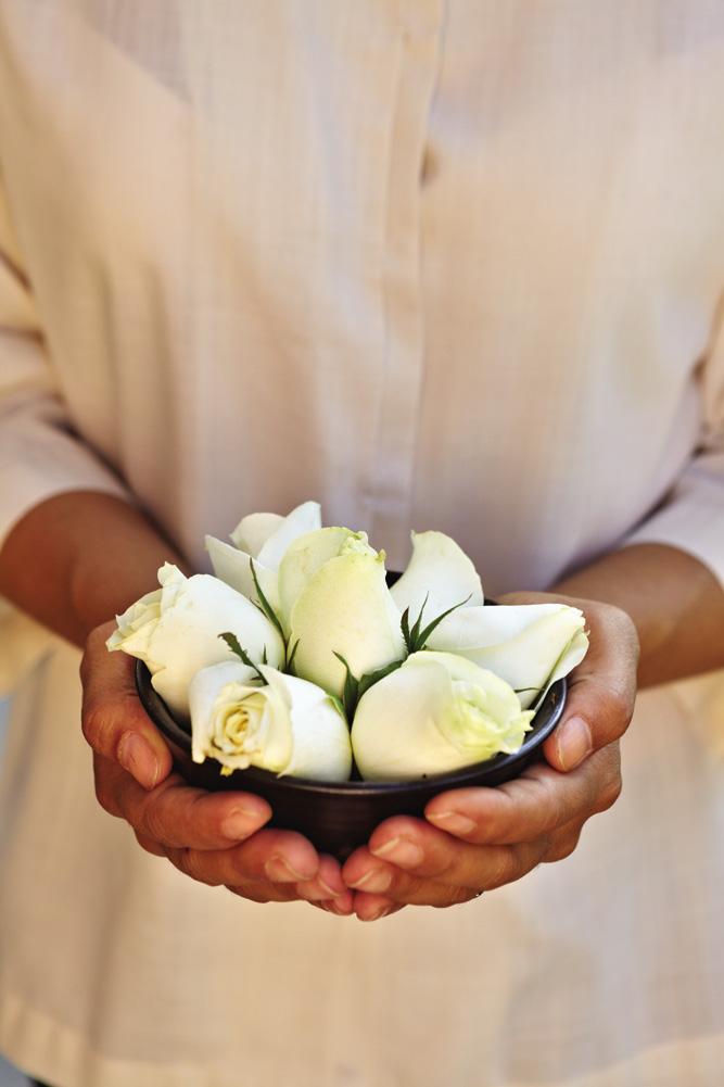 A floral detail