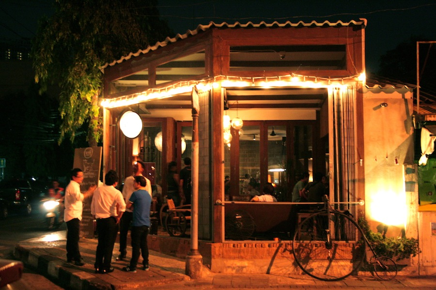 Enjoy a glass of Thai whiskey or live music at Bar Aree.