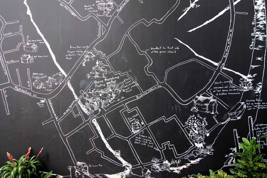 Map of Bang Krachao