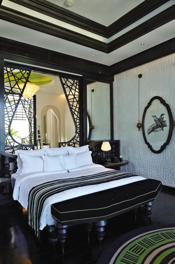 A guest room at InterContinental Danang.