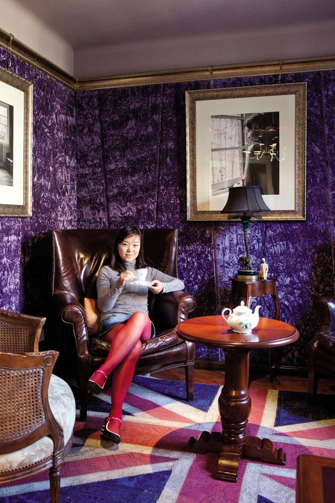 Min Yuan Terrace's Cave d'Emma wine club.