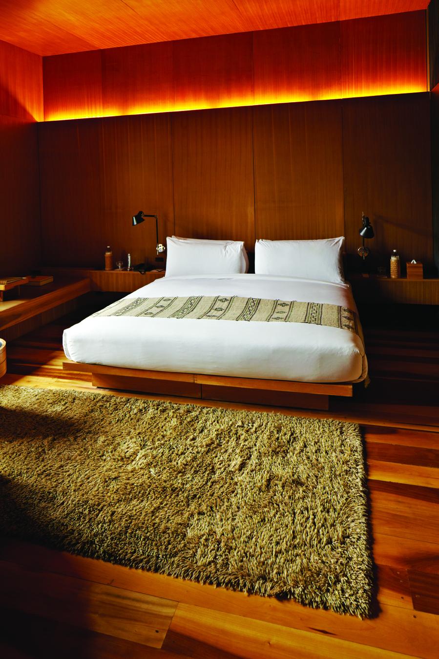 A bedroom at Amankora Thimpu.