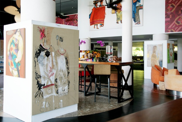 The art exhibition will run until May 11.