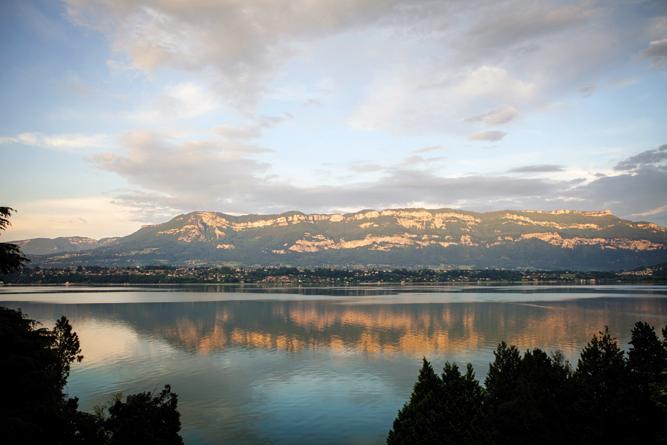 Lake views from Le Bateau Ivre.