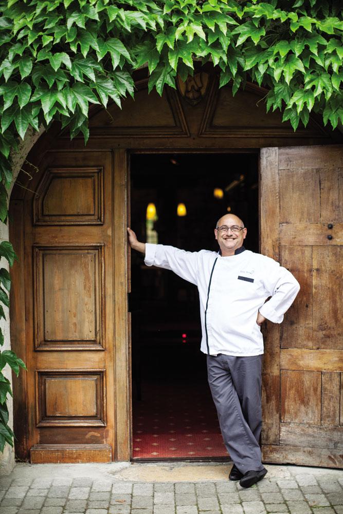 Chef Gilles Blonay.