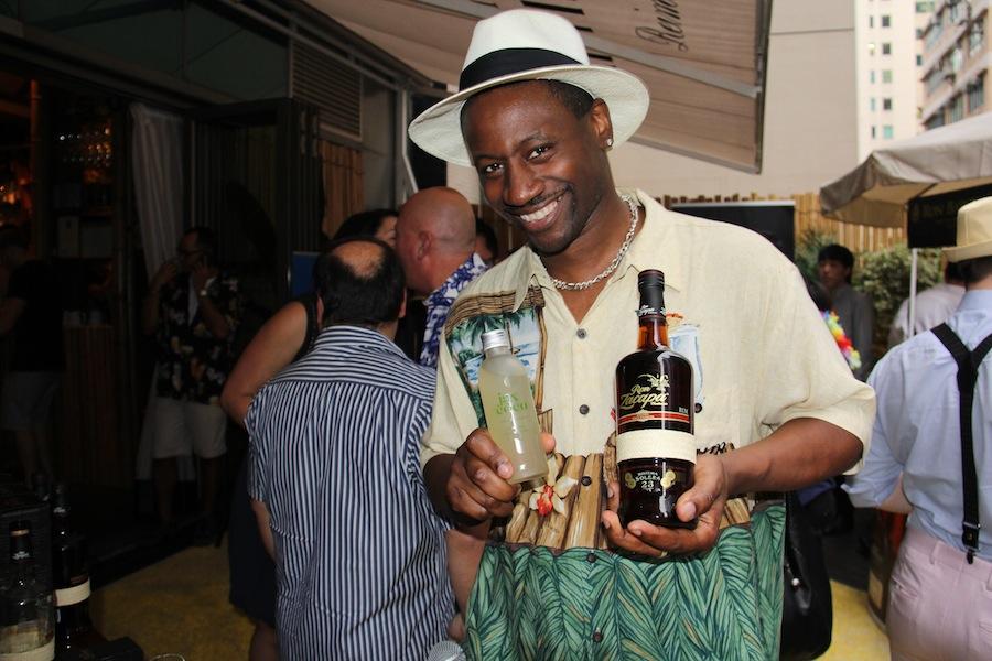 Rum ambassador Ian Burrell will host tasting sessions.