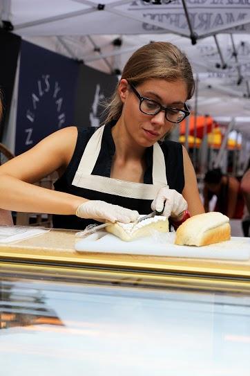 Cheeses are made locally in Hong Kong.