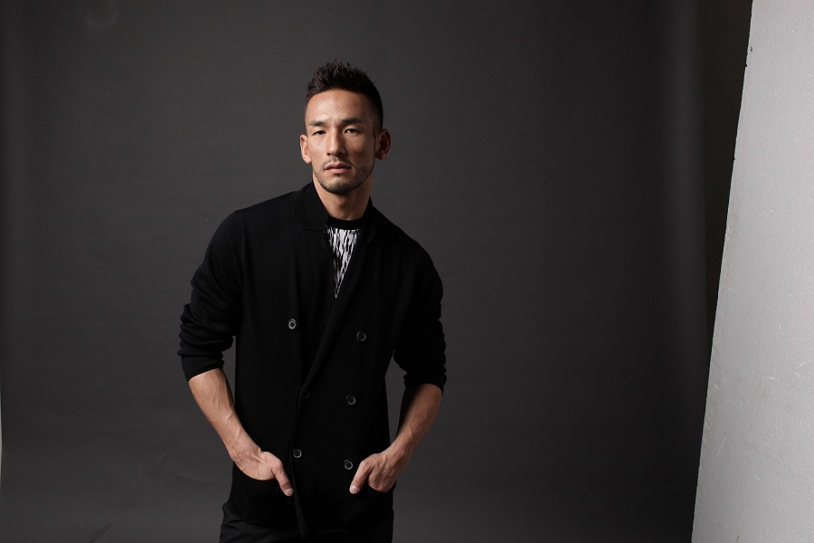 Hidetoshi Nakata, former football star and creator of N sake.