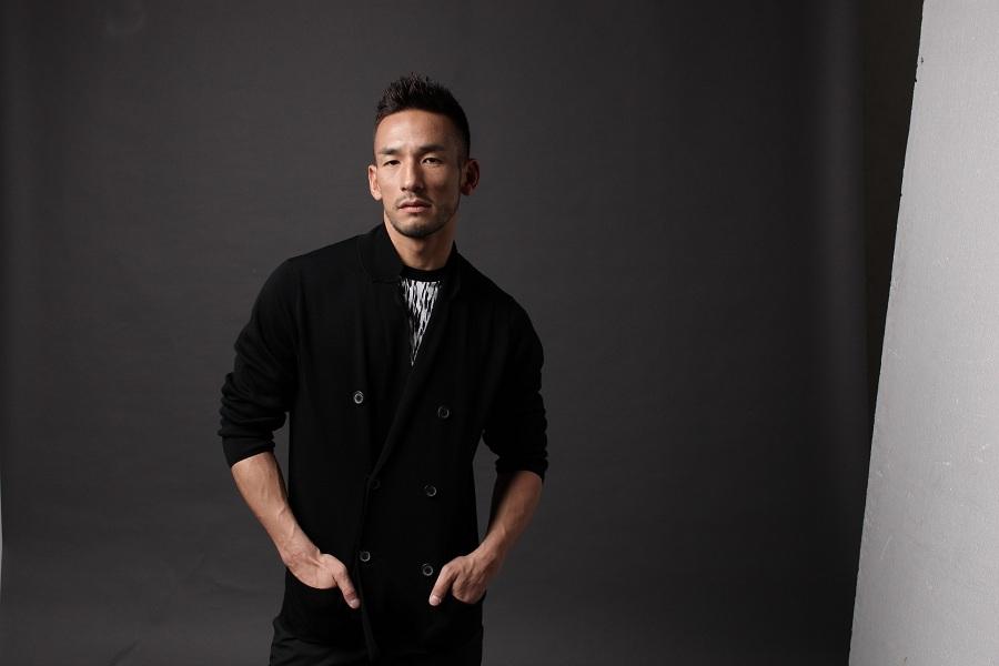 Hidetoshi Nakata, former football star and creator of N sake.