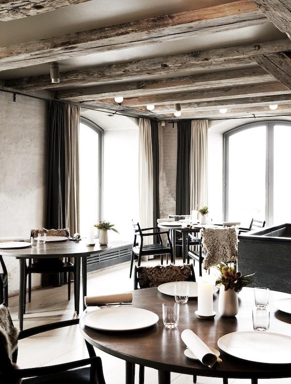 Noma's 11-table Copenhagen restaurant.