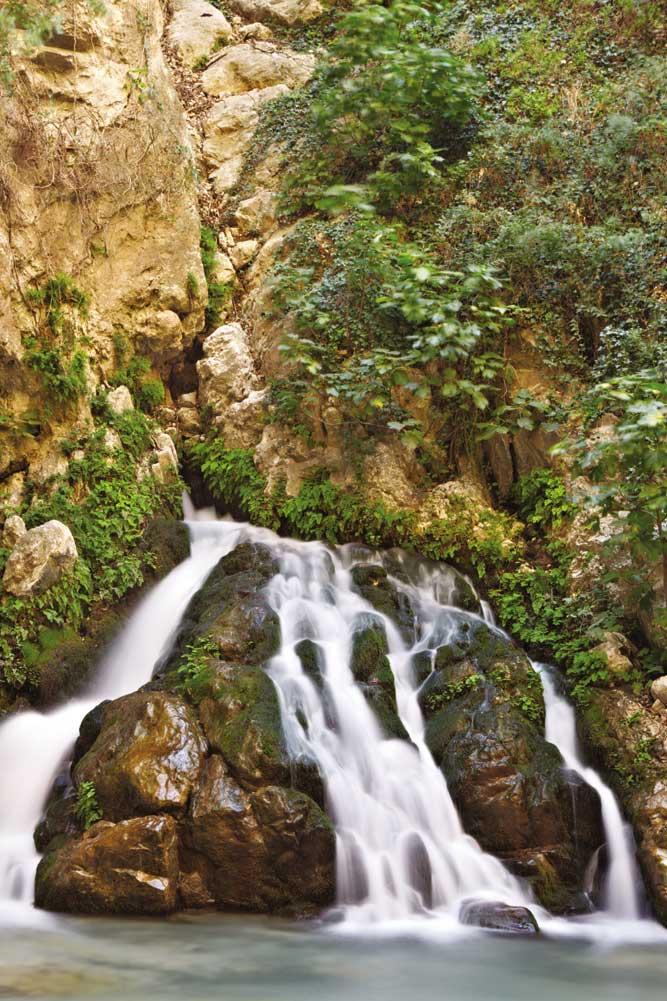 Inside Saklikent Gorge.