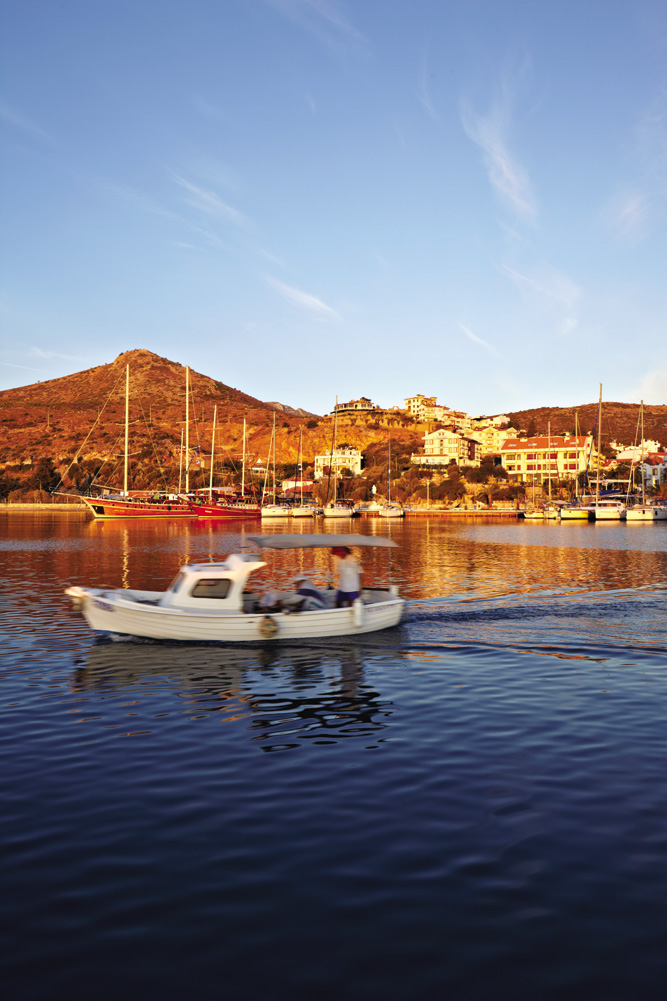 The harbor at Datca.